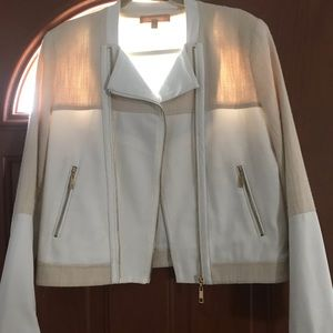 Ellen Tracy: linen,silk&cotton jacket
